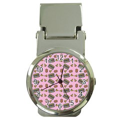 Fast Food Pink Money Clip Watches by snowwhitegirl