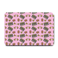 Fast Food Pink Small Doormat