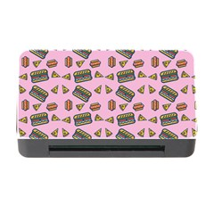 Fast Food Pink Memory Card Reader With Cf