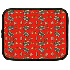 Fast Food Red Netbook Case (xxl)