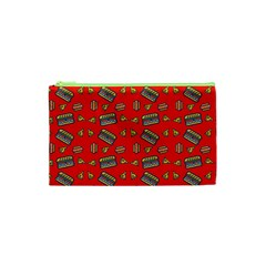 Fast Food Red Cosmetic Bag (xs)