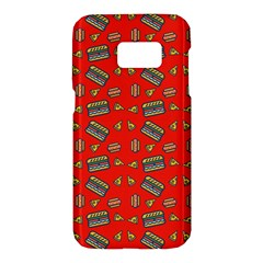 Fast Food Red Samsung Galaxy S7 Hardshell Case