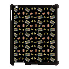 Fast Food Black Apple Ipad 3/4 Case (black) by snowwhitegirl
