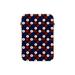 Eye Dots Red Blue Apple Ipad Mini Protective Soft Cases by snowwhitegirl