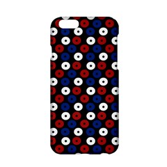 Eye Dots Red Blue Apple Iphone 6/6s Hardshell Case by snowwhitegirl