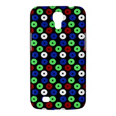 Eye Dots Green Blue Red Samsung Galaxy Mega 6 3  I9200 Hardshell Case by snowwhitegirl