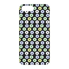 Eye Dots Grey Pastel Apple Iphone 7 Plus Hardshell Case by snowwhitegirl