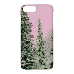 Winter Trees Pink Apple Iphone 7 Plus Hardshell Case