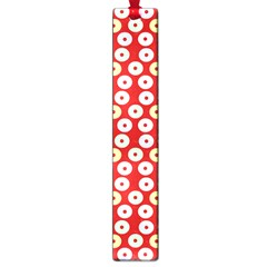 Eye Dots Red Pastel Large Book Marks by snowwhitegirl