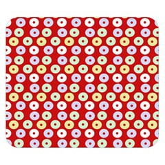 Eye Dots Red Pastel Double Sided Flano Blanket (small)  by snowwhitegirl