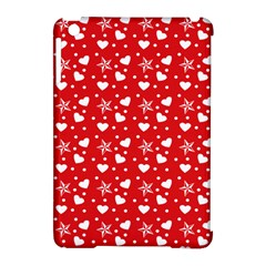 Hearts And Star Dot Red Apple Ipad Mini Hardshell Case (compatible With Smart Cover) by snowwhitegirl