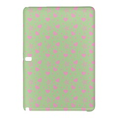Hearts And Star Dot Green Samsung Galaxy Tab Pro 10 1 Hardshell Case by snowwhitegirl