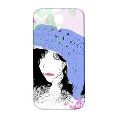 Girl With Hat Samsung Galaxy S4 I9500/i9505  Hardshell Back Case by snowwhitegirl
