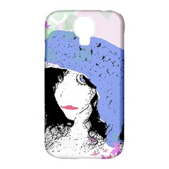 Girl With Hat Samsung Galaxy S4 Classic Hardshell Case (pc+silicone) by snowwhitegirl