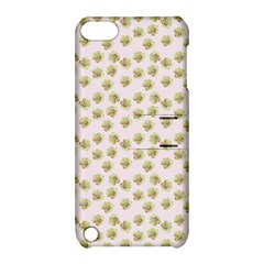 Antique Flowers Pink Apple Ipod Touch 5 Hardshell Case With Stand by snowwhitegirl