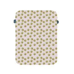 Antique Flowers Pink Apple Ipad 2/3/4 Protective Soft Cases by snowwhitegirl