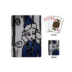 Pixie Girl Stained Glass Playing Cards (mini)