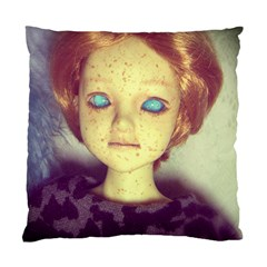 Freckley Boy Standard Cushion Case (two Sides) by snowwhitegirl
