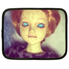 Freckley Boy Netbook Case (xxl) by snowwhitegirl