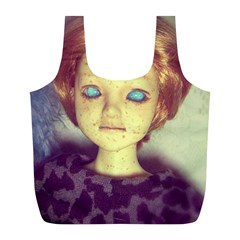 Freckley Boy Full Print Recycle Bag (l) by snowwhitegirl