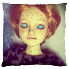 Freckley Boy Standard Flano Cushion Case (two Sides) by snowwhitegirl
