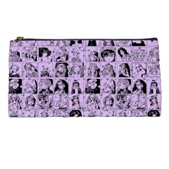 Lilac Yearbok Pencil Cases by snowwhitegirl