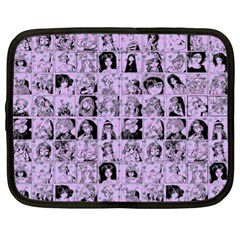 Lilac Yearbok Netbook Case (xl) by snowwhitegirl