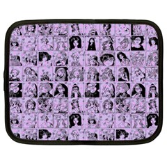 Lilac Yearbok Netbook Case (xxl) by snowwhitegirl