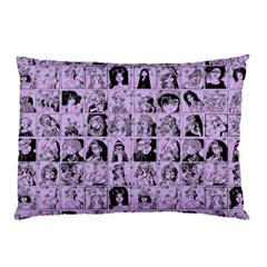 Lilac Yearbok Pillow Case (two Sides) by snowwhitegirl