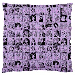 Lilac Yearbok Large Cushion Case (one Side) by snowwhitegirl