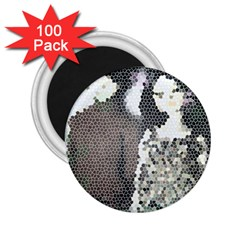 Dolls Stained  Glass 2 25  Magnets (100 Pack)