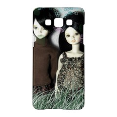 Dolls In The Grass Samsung Galaxy A5 Hardshell Case  by snowwhitegirl