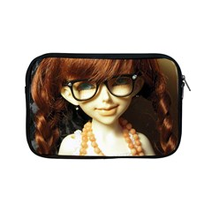 Red Braids Girl Apple Ipad Mini Zipper Cases by snowwhitegirl