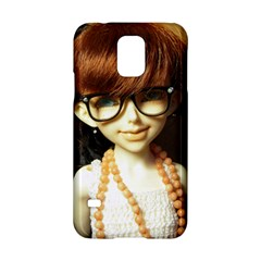 Red Braids Girl Samsung Galaxy S5 Hardshell Case  by snowwhitegirl