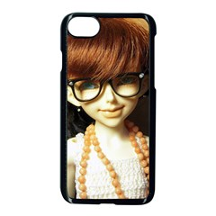 Red Braids Girl Apple Iphone 7 Seamless Case (black) by snowwhitegirl