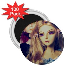 Doll Couple 2 25  Magnets (100 Pack)  by snowwhitegirl