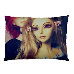 Doll Couple Pillow Case by snowwhitegirl