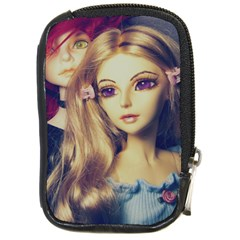 Doll Couple Compact Camera Leather Case by snowwhitegirl