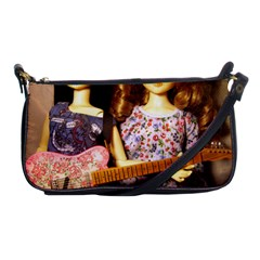 Playing The Guitar Shoulder Clutch Bag