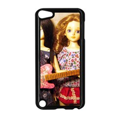 Playing The Guitar Apple Ipod Touch 5 Case (black) by snowwhitegirl