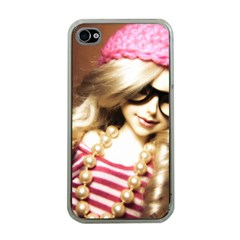 Cover Girl Apple Iphone 4 Case (clear) by snowwhitegirl