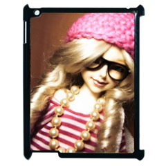 Cover Girl Apple Ipad 2 Case (black) by snowwhitegirl