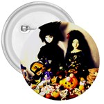 Old Halloween Photo 3  Buttons Front