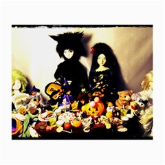Old Halloween Photo Small Glasses Cloth by snowwhitegirl