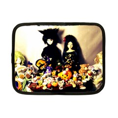Old Halloween Photo Netbook Case (small) by snowwhitegirl