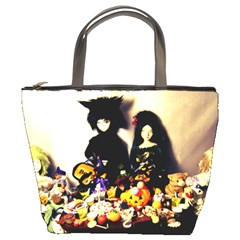 Old Halloween Photo Bucket Bag by snowwhitegirl