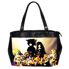 Old Halloween Photo Oversize Office Handbag (2 Sides) by snowwhitegirl