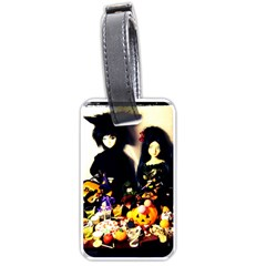 Old Halloween Photo Luggage Tags (one Side)