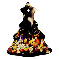 Old Halloween Photo Christmas Tree Ornament (two Sides) by snowwhitegirl