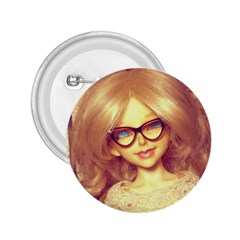 Girls With Glasses 2 25  Buttons by snowwhitegirl
